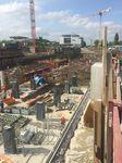 Die Baustelle nimmt Gestalt an - Bauplanung Aridbau in München