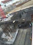 Baustelle eines Bauprojekts von Aridbau in München.